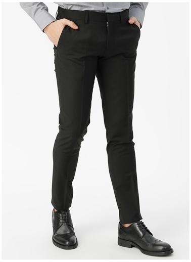 Fabrika Fabrika Siyah Erkek Klasik Pantolon Siyah